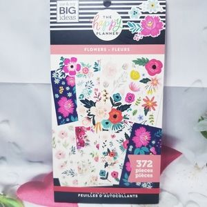 Flowers Sticker Book The Happy Planner New